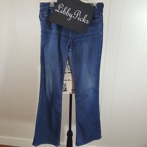 Lucky Brand Sweet 'N Low mid rise flare 8/29